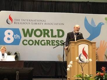 Prof. Thomas Schirrmacher auf dem 8. IRLA-Weltkongress / © Foto: Herbert Bodenmann/APD Schweiz