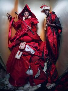 RuPaul und Djimon Hounsou © Pirelli Kalender 2018, Tim Walker