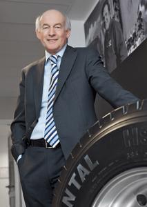 Herbert Mensching, Managing Director Marketing & Sales Truck Tires EMEA