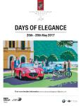 Concorso d'Eleganza Villa d'Este 2017: From the beginnings of automobile construction to the concepts of tomorrow