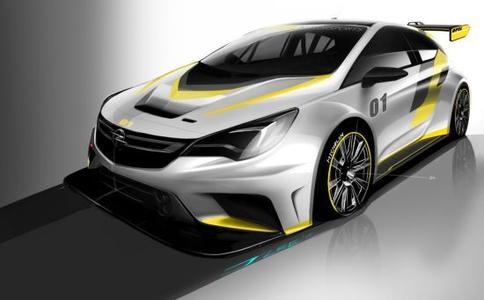 Für den Kundensport: Der neue Tourenwagen Opel Astra TCR