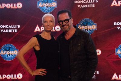 Alex Jolig (Schauspieler) mit Ehefrau