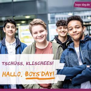Boys`Day Jungen - Zukunftstag