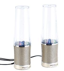 PX-1477 auvisio Wasserspiel-Lautsprecher mit bunten Lichteffekten