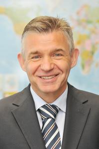 Karlheinz Haupt, Leiter des Geschäftsbereichs Fahrerassistenzsysteme
