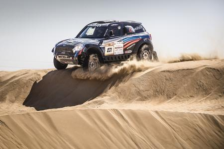 abi Desert Challenge, Vladimir Vasilyev (RUS), Konstantin Zhiltsov (RUS) - MINI ALL4 Racing 201 VRT - 30.03.2015