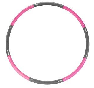 PEARL sports Hula-Hoop-Reifen mit Schaumstoff-Ummantelung, bis 1,8 kg / Ø 98 cm