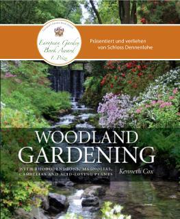 1. Platz European Garden Book Award