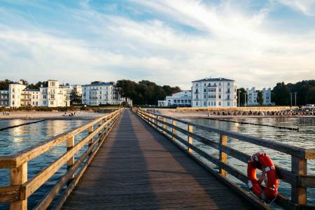 Das älteste deutsche Seebad Heiligendamm an der Mecklenburgischen Ostseeküste, Foto: TMV/Tiemann