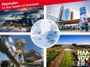 """Remain in the centre of Europe - select Hannover"": Hannover Marketing & Tourismus GmbH mit Standortoffensive in Großbritannien"