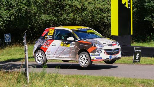 Starkes Aufgebot: 29 Opel ADAM am Start der Deutschland Rallye