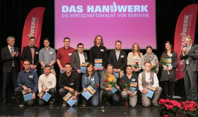 Handwerkskammer Reutlingen: Die besten Auszubildenden der Region