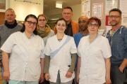 Der Leiter des Stifts St. Josef Christian Habermann und sein Projektteam sind schon der erste Beweis für gelebte Diversität in der Einrichtung.