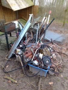 Metallschrott mit Hilfe von mobile Schrotthändler los werden