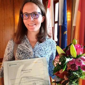 Аie Preisträgerin Petra Fuchs, Foto: Hochschule Fulda