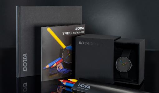 BOTTAS TRES colores kommt im Bundle mit Polychromos Stiften von Faber Castell und Skizzenblock