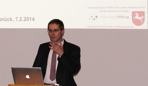 Prof. Dr. Joachim Hertzberg von der Universität Osnabrück und der DFKI-Außenstelle Osnabrück