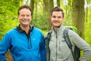 Mit dem Wandermarathon 2.0 will Wikinger Reisen Menschen in Hagen und betroffenen Partnern in ganz Deutschland helfen (Foto GF Daniel Kraus (li.) und Janek Kraus.