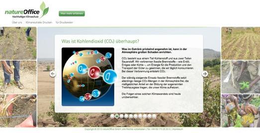 Online: Neues Portal rund ums Klimaneutrale Drucken