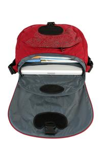 Padded laptop compartment and removable laptop sleeve 1