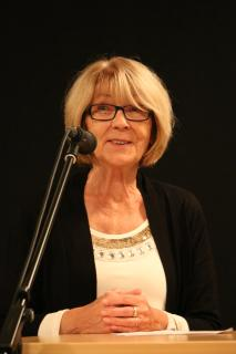 """Rosemarie Müller bei der Preisverleihung für """"Gute Beispiele im Ehrenamt"""" vor drei Jahren: """"Jede Aktion und jedes Projekt ist großartig"""". Foto: Gaby Richter"""