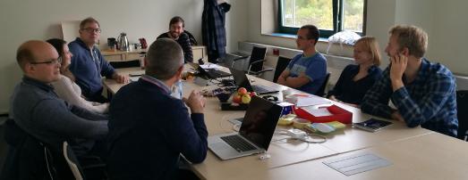 """Kreativworkshop """"Social Engineering"""" am 22. Oktober 2016 an der TH Wildau / Foto: TH Wildau / Forschungsgruppe Wirtschaft-/Verwaltungsinformatik und Digitale Medien"""