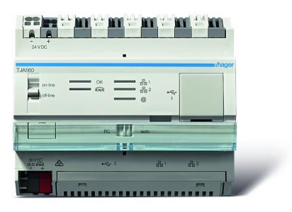IoT-Controller von Hager macht Funktions-Verknüpfung von Geräten verschiedener Hersteller zu komplexen Szenarien möglich.