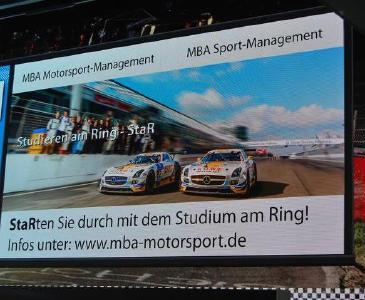 Am Nürburgring zum MBA