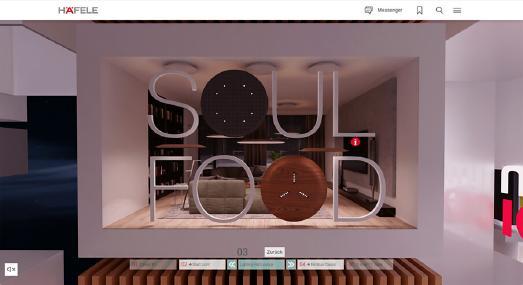 """Nimbus im Rahmen der """"Häfele Discoveries"""" auf der interzum @home"""