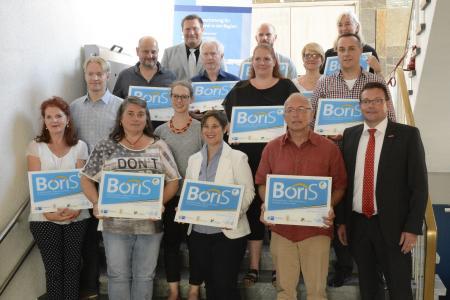 Die Boris-Beauftragten der 12 ausgezeichneten Schulen aus der Region Rhein-Neckar-Odenwald (Bild: Handwerkskammer Mannheim)