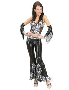 Sexy Damen-Top Zebra