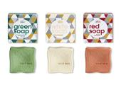 Vivaness Best New Product 2020 in der Kategorie Gesichtspflege: Green Soap, White Soap & Red Soap, Made by Speick