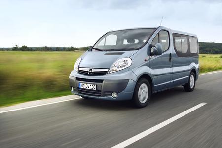Opel Vivaro Combi jetzt auch als CO2-sparende ecoFLEX-Version