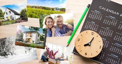 Der optimale Zeitpunkt für den Hausbau hängt von vielen Faktoren ab