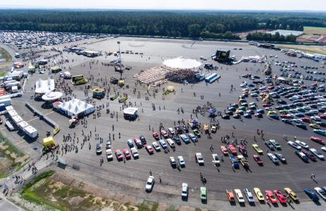 Huge party: The Opel Test Center in Rodgau-Dudenhofen celebrated its 50th birthday with more than 20,000 visitors