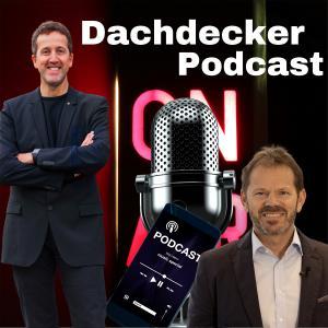 Karl-Heinz Krawczyk (li.) und Michael Zimmermann (re.) starten eine gemeinsame Podcast-Serie für und über das Dachdeckerhandwerk
