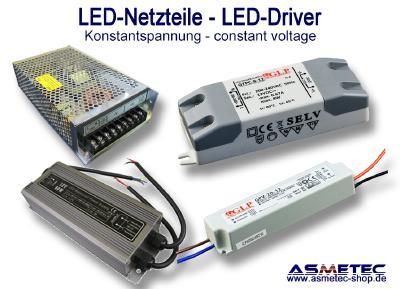 METOLIGHT LED Netzteile mit Konstantspannung