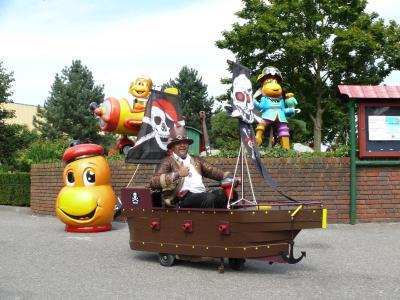 Piratentag in Kernie´s Familienpark 2017 (Der Verrückte Abenteurer)
