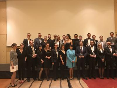 Die ausgezeichneten Unternehmen des German Medical Awards 2017 / Fotoquelle: Katja Hofmann
