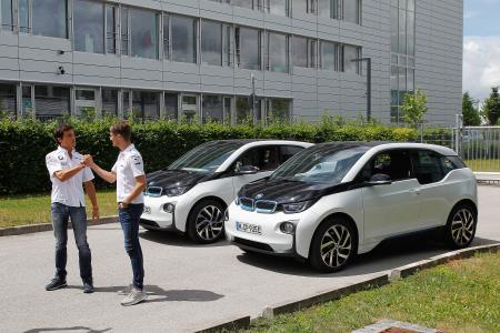 Marco Wittmann, Bruno Spengler, BMW i3