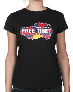"""""""People for a Free Tibet"""" ? T-Shirts für guten Zweck"""