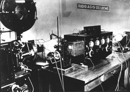 1931 Electronic TV transmission