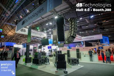 dBTechnologies @ Prolight + Sound 2019