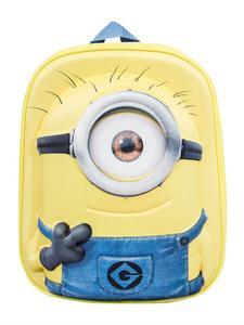 Original Minions Rucksack 3D für Kinder gelb-blau 35x27cm