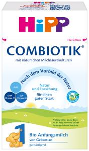 HiPP_BIO COMBIOTIK Folgemilch 1_Bio Anfangsmilch