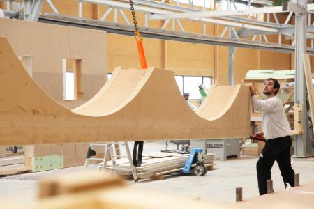 Für das Bauhauptgewerbe läuft es rund: Drei Viertel der Betriebe in der Region melden eine Auslastung von mindestens 90 Prozent (Foto: AMH)