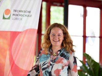 Dr. Anja Ohsenbrügge ist die neue Professorin für Baubetrieb und Projektsteuerung an der TH Lübeck  / Copyright TH Lübeck