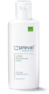 preval LIPOL enthält wertvolles Jojoba-Öl, das für eine ausreichende Rückfettung der Haut sorgt.