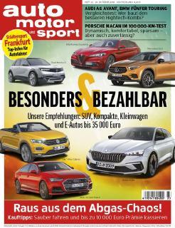 AUTO MOTOR UND SPORT 23/2018 / Motor Presse Stuttgart