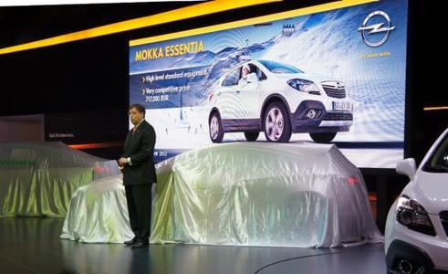 Auf der Opel-Pressekonferenz zum Start des Moskauer Automobilsalons kündigte Alfred E. Rieck, Opel-Vorstand Verkauf, Marketing und Aftersales eine erhebliche Erweiterung der Modellpalette in Russland an – insbesondere in den Wachstumssegmenten kompakte Limousinen und subkompakte SUVs